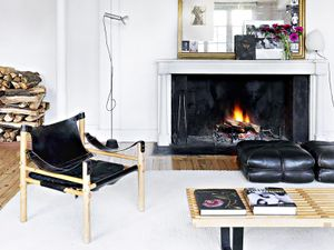 Shop the Room: A Tranquil Black and White Lounge