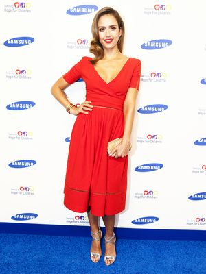 Seeing Red: The Color Jessica Alba, Kate Bosworth & More Are Loving
