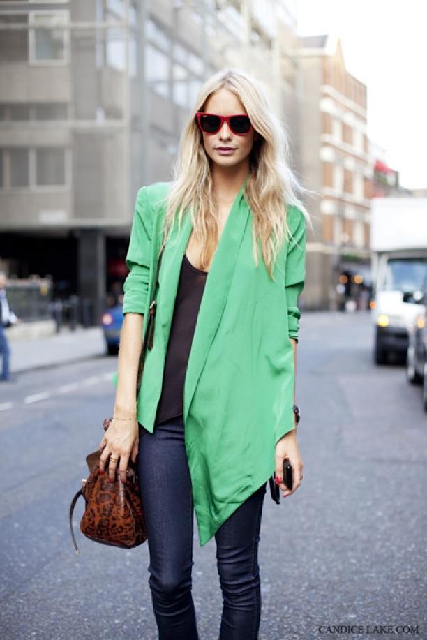 Street Style: Bright Green