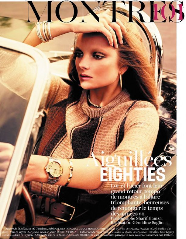 Aiguillés Eighties | Vogue Paris