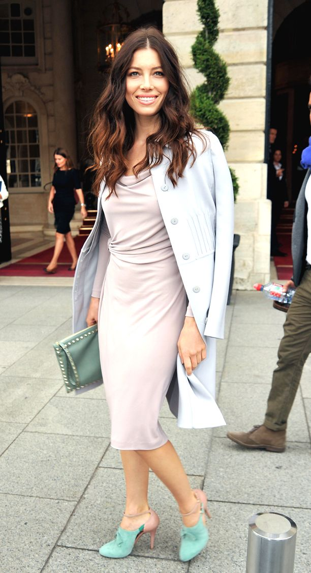 Look of the Day: Pastel