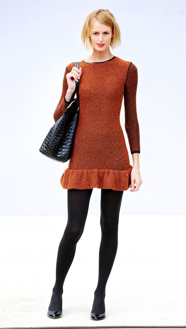 Look of the Day: Textured Dress