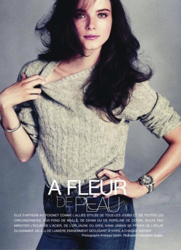 A Fleur de Peau | Vogue Paris