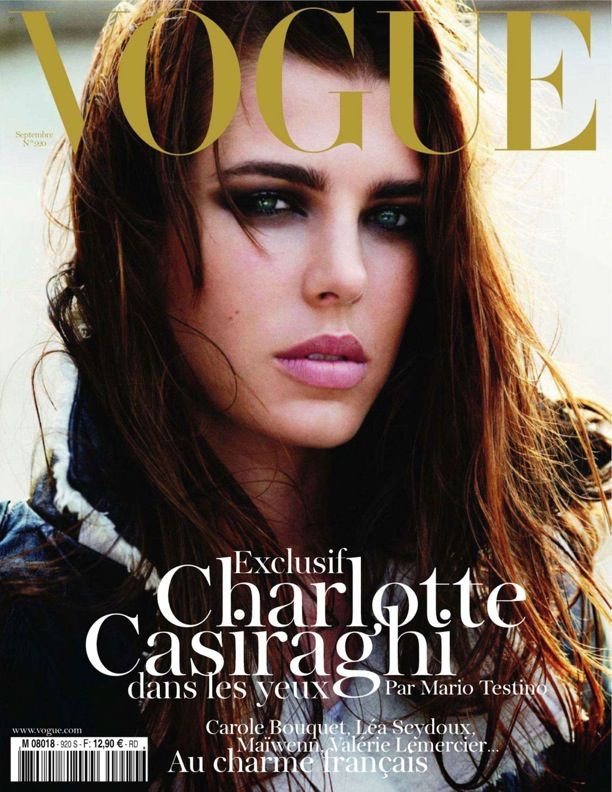 Charlotte Casiraghi | Vogue Paris