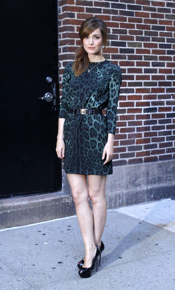 Look of the Day: Coloured Animal Print