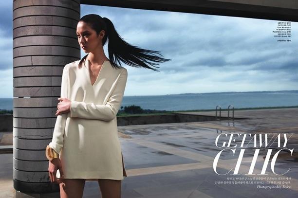 Getaway Chic | Harper's Bazaar Korea