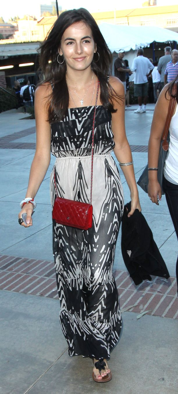 Look of the Day: Printed Maxi