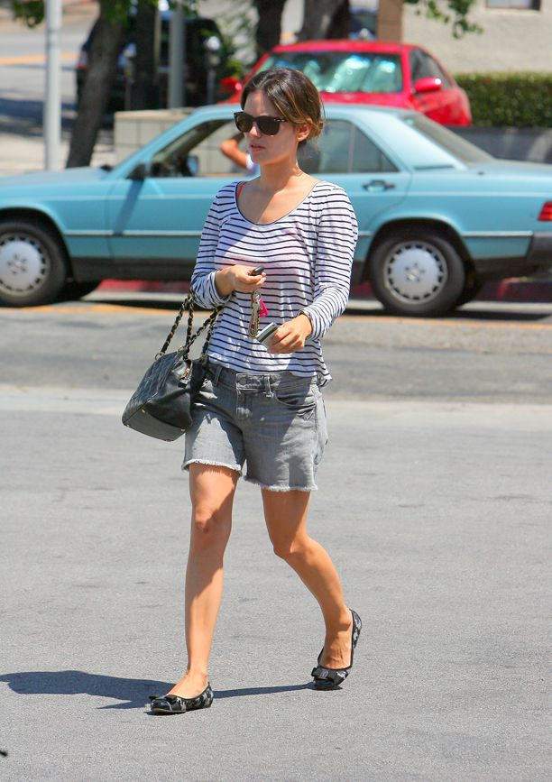 Look of the Day: Slouchy Cutoffs