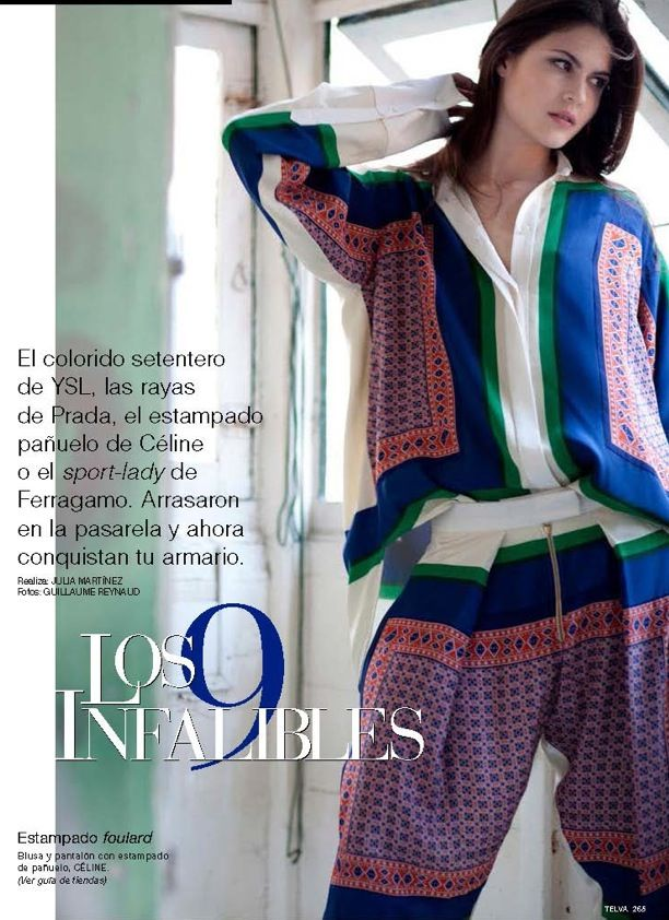 Los 9 Infalibles | Telva Spain