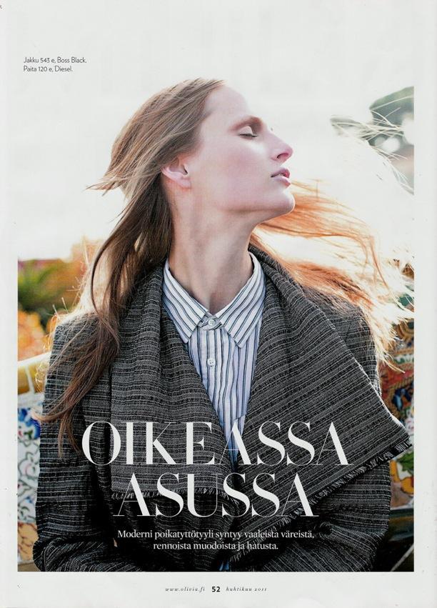 Oikeassa Asussa | Olivia Finland