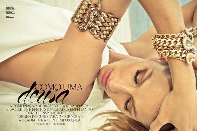 Como uma Deusa | Vogue Brazil