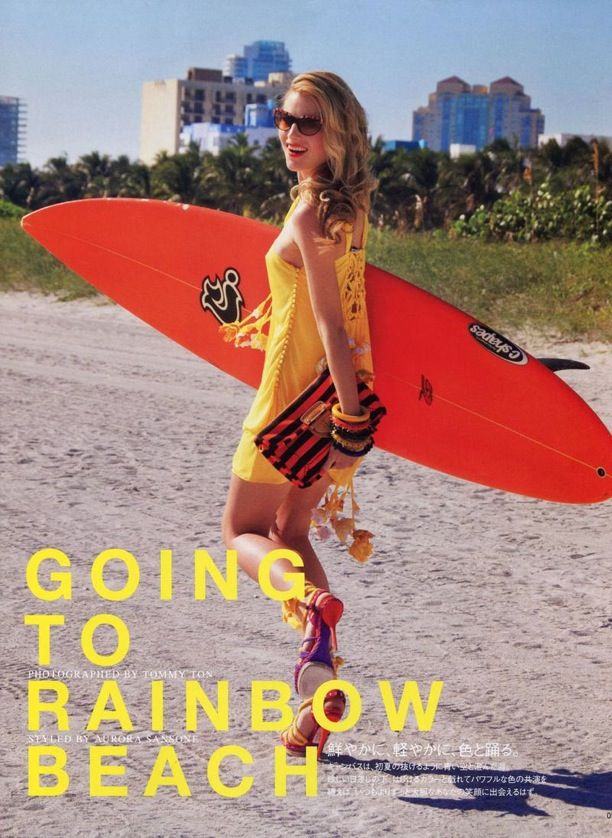 Going to Rainbow Beach | Vogue Nippon