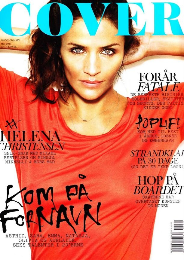 Helena Christensen | Cover Magazine