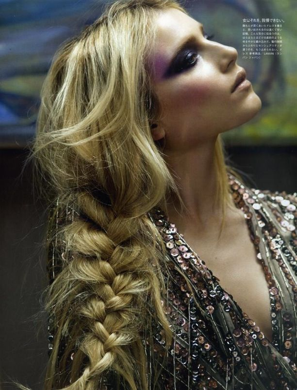 Braid New World | Vogue Nippon