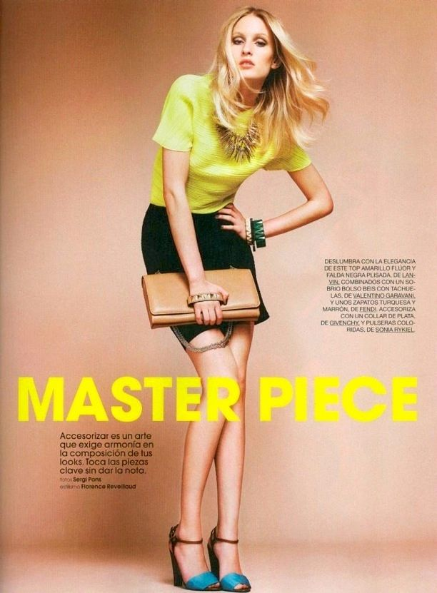 Master Piece   Marie Claire Spain