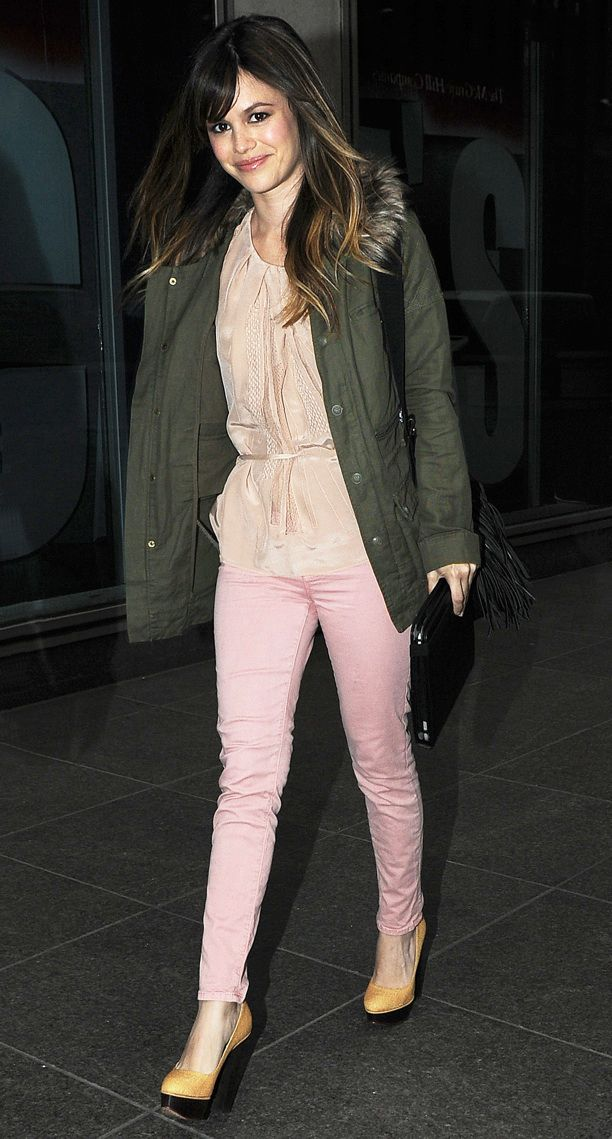Look of the Day: Pretty in Pink