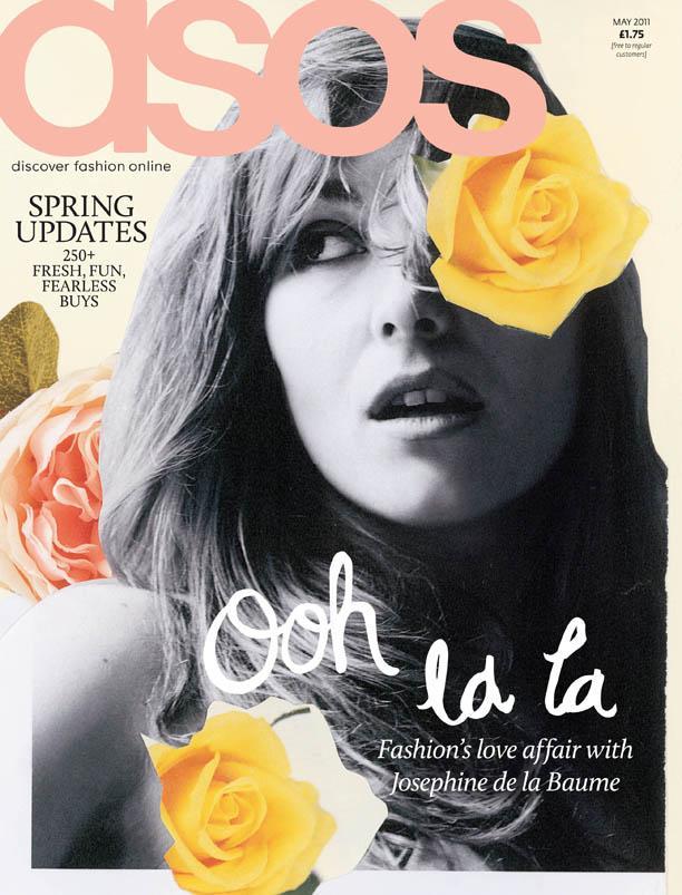 Josephine de la Baume for ASOS Magazine