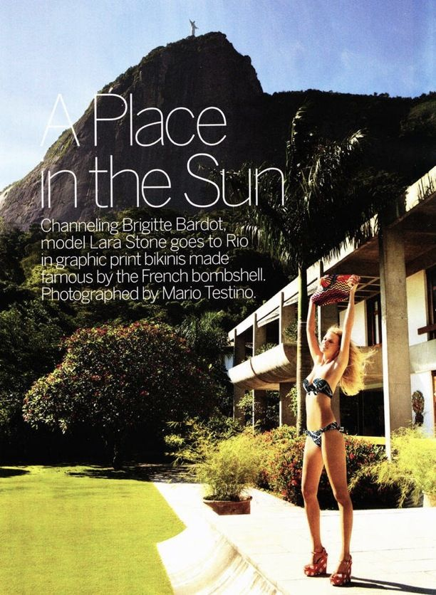 A Place in the Sun | Vogue April 2011