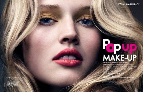 Pop Up Make-Up | ELLE France