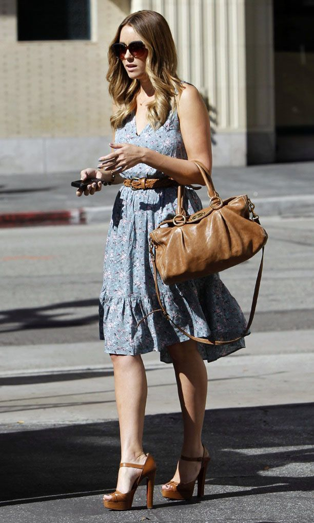 Look of the Day: Wooden Platform Sandals