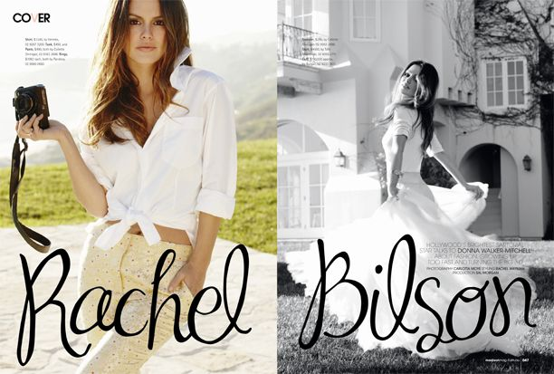 Rachel Bilson for Madison Magazine
