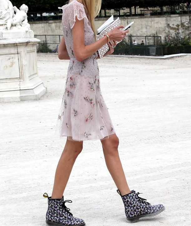 Street Style: Lace-Up Boots