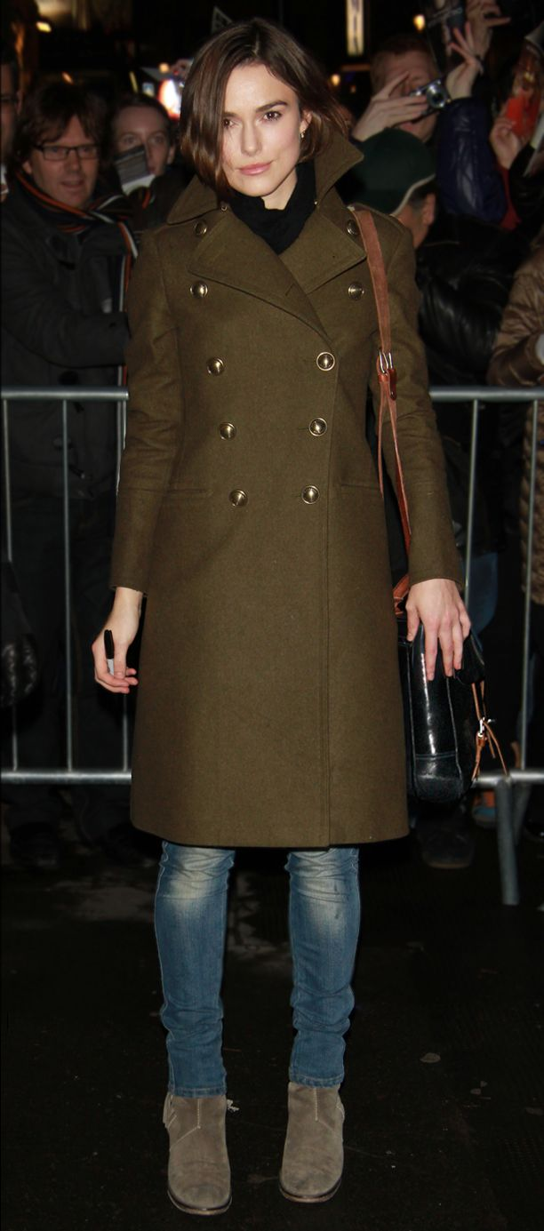 Look of the Day: Olive Coat