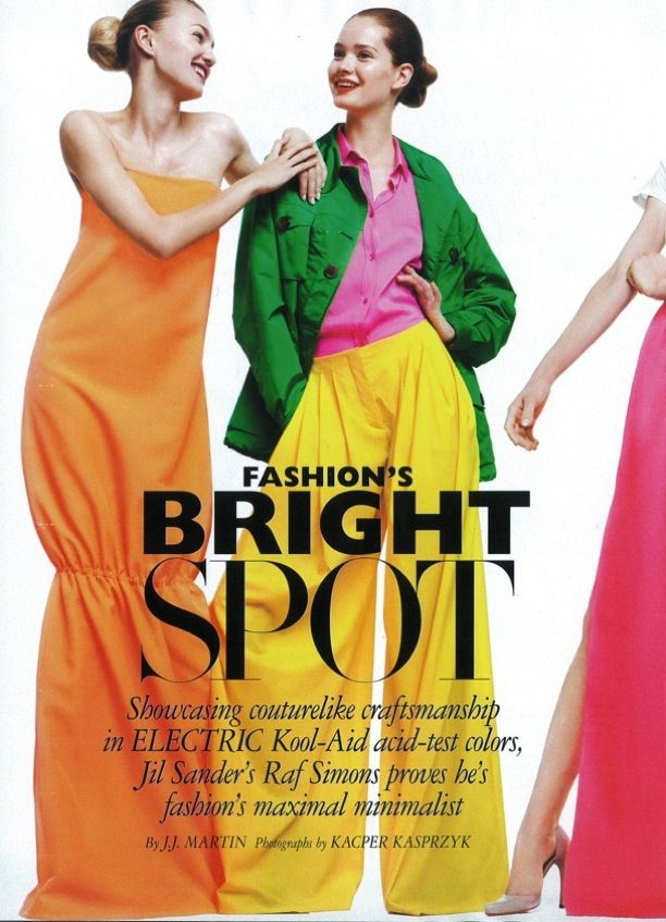 Fashion's Bright Spot: Jil Sander