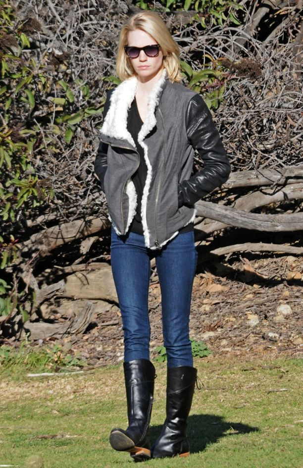 Look of the Day: Shearling