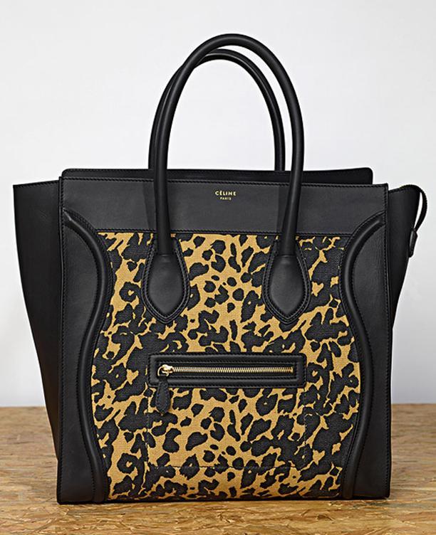 Celine S/S 2011: Leopard Bags