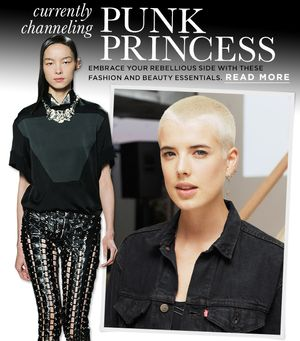 Punk's Princesses Inspire Our Fashion Picks