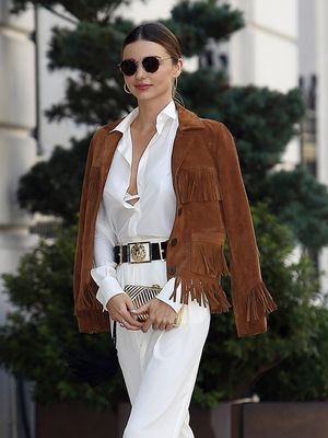 The Chicest Way to Wear Your Fringe Jacket