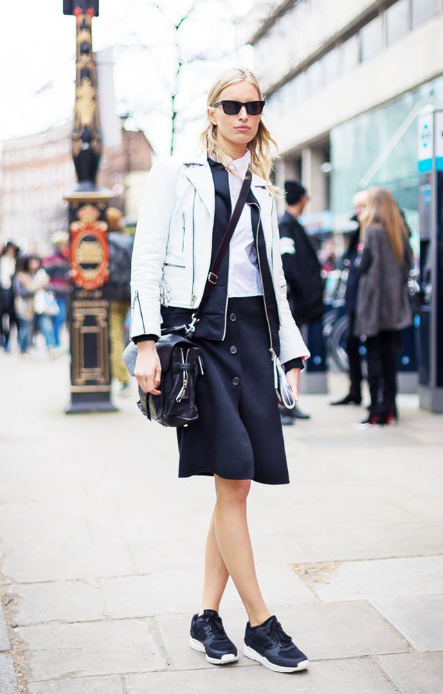 22 Fall Outfit Ideas Built Around Our Favorite Skirts