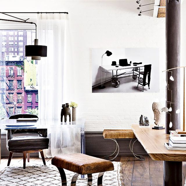 Tour a Gorgeously Airy Meatpacking District Loft