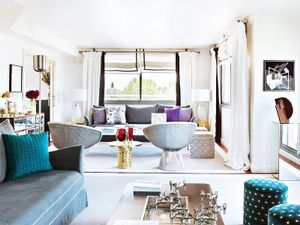 Visit a Madrid Apartment With Perfect Pops of Color