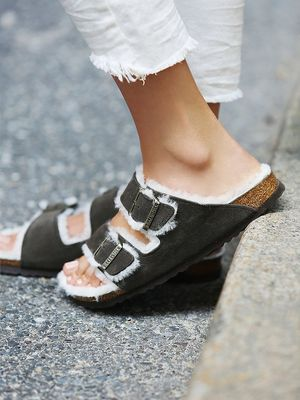 Shearling Birkenstocks Exist: Would You Wear Them This Season?