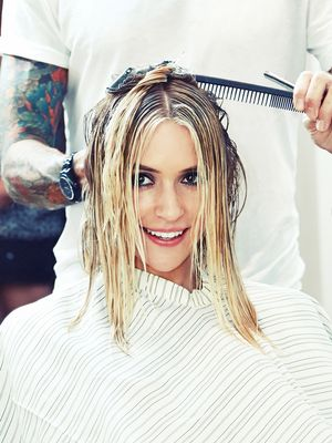 Behind the Scenes of Kristin Cavallari's MAJOR Hair Transformation