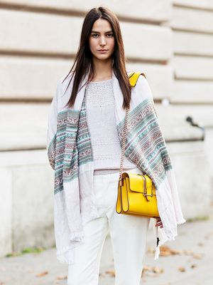 Tip of the Day: A Super-Creative Way to Wear Your Scarf