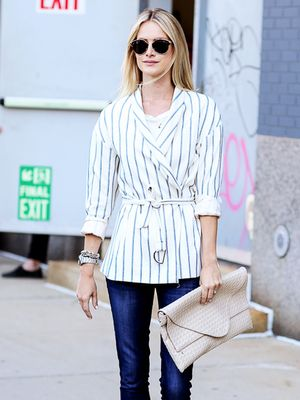 Tip of the Day: Why You Should Invest in a Belted Blazer
