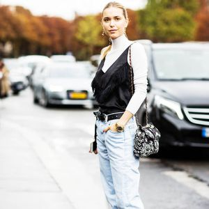 How Your Favorite Street Style Stars Do Boyfriend Jeans