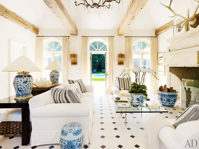 VisitArchitectural Digest to see more of Ralph Lauren's Bedford, NY home.