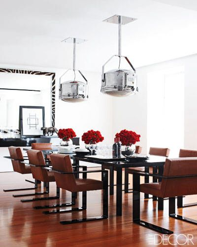 VisitELLE Decor to see the rest of Ralph Lauren's Manhattan apartment.