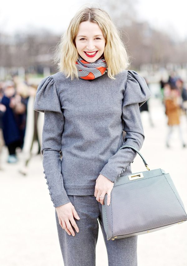 Style Tip: Circle your scarf loosely around the neck for an infinity look.