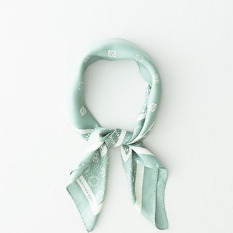 Symbol Silk Scarf