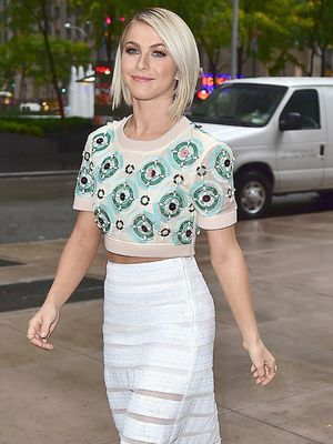 Runway to Real Way: Julianne Hough in DKNY S/S 15