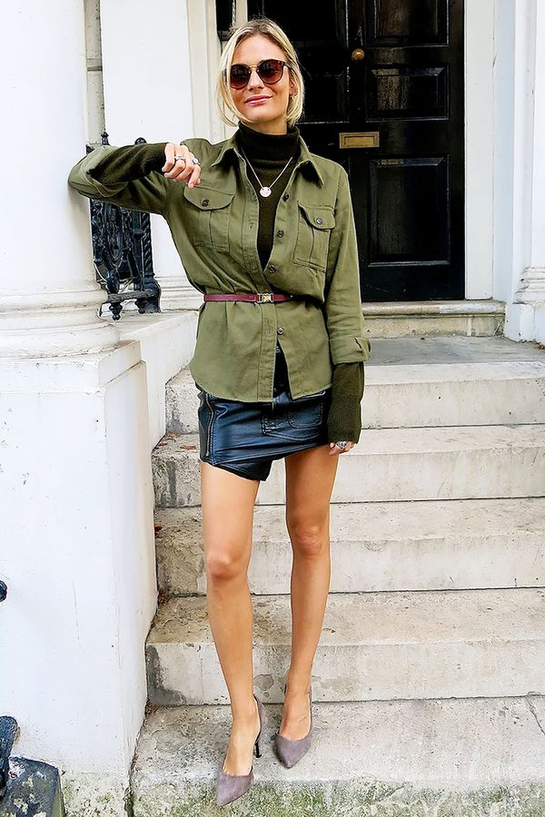 Why The Miniskirt Is Having A Major Moment This Fall