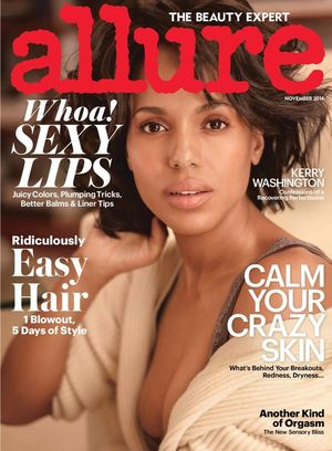 Kerry Washington Goes Au Naturel For Allure
