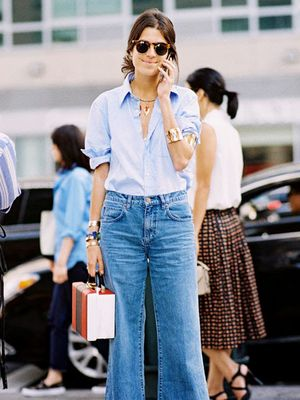 Tip of the Day: Wide-Leg Jeans for Every Body Type