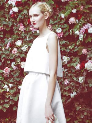 The 9 Dreamiest Dresses From Bridal Fashion Week F/W 15