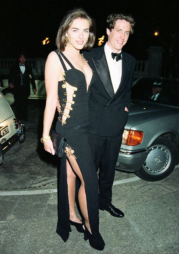 What: Post-premiere party of Hugh Grant's 1994 film, Four Weddings and a Funeral, in London